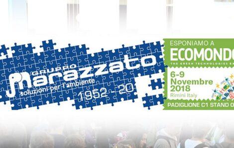 Fiera Ecomondo 2018: Gruppo Marazzato conferma la sua presenza