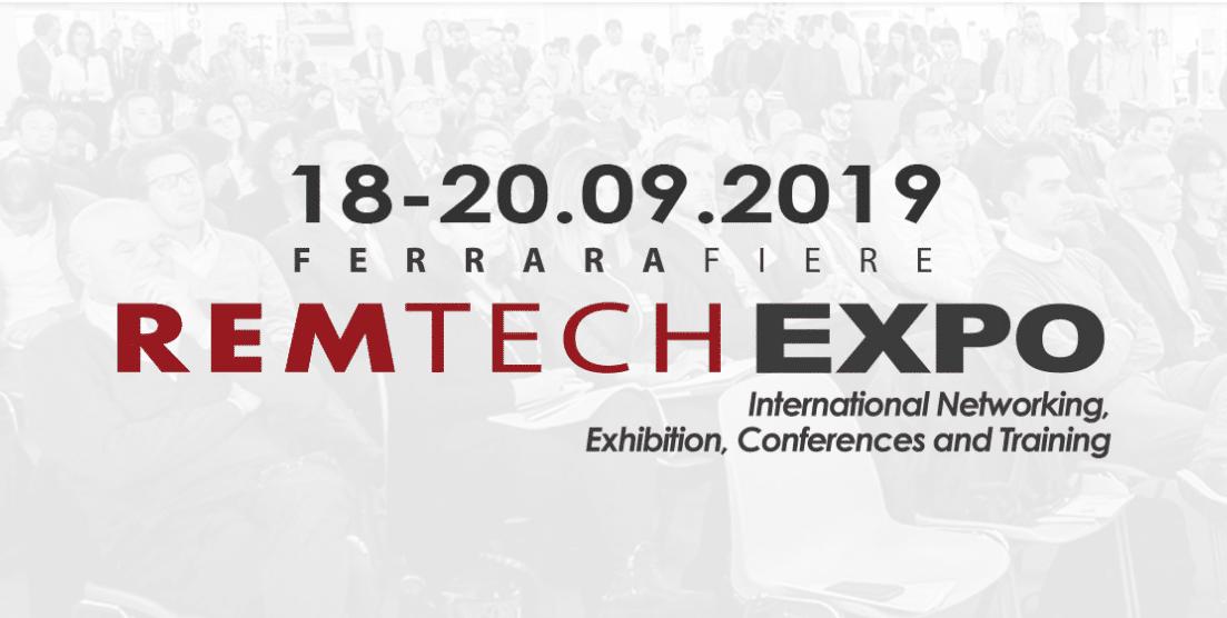 Gruppo Marazzato a Remtech Expo 2019: 18-19-20 settembre a Ferrara