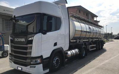 Automezzi a minor impatto ambientale: Marazzato utilizza il nuovo Scania con motore a gas