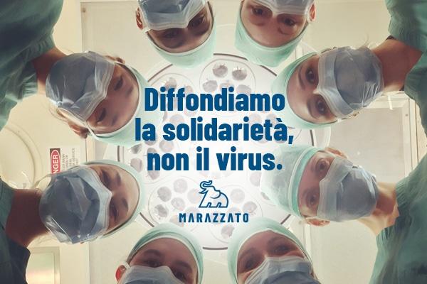 Diffondiamo la solidarietà, non il virus